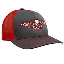 Diesel Life - OSFA Richardson Charcoal/Red SnapBack Hat/Cap