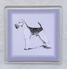 More details for airedale terrier coaster by curiosity crafts