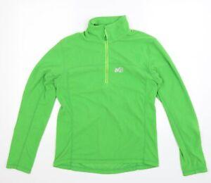 Millet Mens Green  Fleece Jacket  Size S