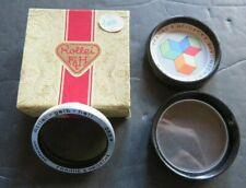 GENUINE Rolleiflex Rollei 28.5mm Gelb-Hell Light Yellow Filter w/ Case & Box