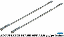 ADJUSTABLE STAND OFF ARM 30/36 Inches  dinghy BOAT Davits STANDOFF BRACKET