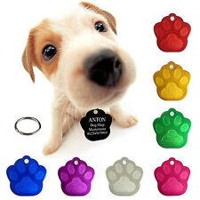 3 Hundemarken mit Gravur Hundemarke Tiermarke Adressanhänger Anhänger Hund Alu