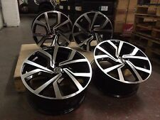 "18"" ALLOY WHEELS CLUBSPORT CADDY GOLF R STYLE AUDI BLACK EDITION S-LINE A3 A4"