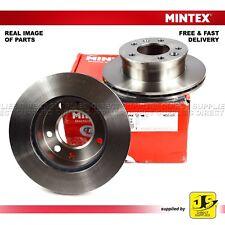 2X MINTEX FRONT DISC BRAKES MDC1037 FREIGHTLINER MERCEDES-BENZ SPRINTER VW LT