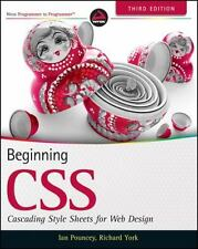 Beginning CSS : Cascading Style Sheets for Web Design