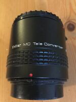 Vivitar MC Tele Converter 3X Lens 3X-22 ,very clean condition.