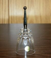 Princess House Vintage Collectible Lead Crystal Bell With Glass Clapper