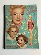 Betty Hutton & Her Girls Paper Dolls