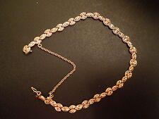 "14K Yellow Gold Bracelet, 10.1 grams 8.75"" inches"