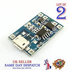 2x 18650 5V Micro USB Lithium Battery Charger Board Module 1A