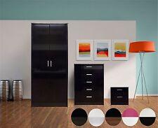 Wood Veneer Bedroom Furniture Sets with Wardrobe