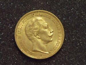 Goldmünze - Kaiserreich - 20 Mark - Preussen - Wilhelm II. - 1901 A