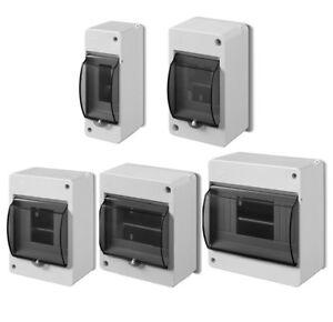 Kleinverteiler IP30 Aufputz Sicherungskasten Feuchtraum Verteilerkasten Verteile