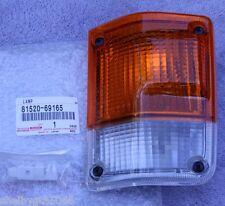1981-1987 FJ60 Land Cruiser Left Front Signal Lamp - 81520-69165 Genuine Toyota