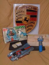 RARE FULLY FUNCTIONING VINTAGE SCHUCO PORSCHE 917 SERVO W/TETHERED R/C. W/BOX!