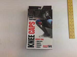 NEW Rocktape Knee Caps X-Small Red XS Rock Tape VMO Support 5mm