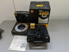 Kodak 4200 Carousel Slide Projector with Lens, Remote, Tray, Box