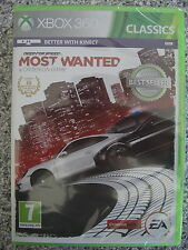 Need for speed most wanted for PAL Xbox 360 (NEW & SEALED)