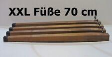 XXL Füße Holzbeine Möbelbeine Möbelfüße Tischbeine Holzfüße 70 cm