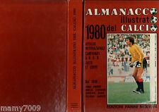 ALMANACCO ILLUSTRATO DEL CALCIO 1980=EDIZ PANINI=MILAN=ALBERTOSI=SERIE ABCD