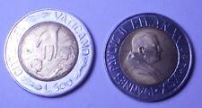 VATICANO Giovanni Paolo II 500 Lire bimet 1999  FDC (UNC)