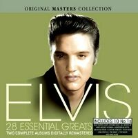 ELVIS PRESLEY 28 ESSENTIAL GREATS NEW + SEALED 2CD SET  ** ROCK AND ROLL HITS **