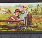 Dr Kilmer Meadow Plant Electric Magnetic Cancer Cure Ulcers Victorian Trade Card
