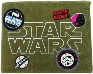 Licensed Star Wars Wallet Coin Pouch, 12 cm, Khaki