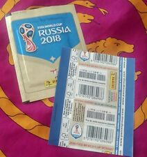 PANINI Russia 2018 World Cup 18-2 OVP cartocci ORO SEALED PACKET Migros RARE