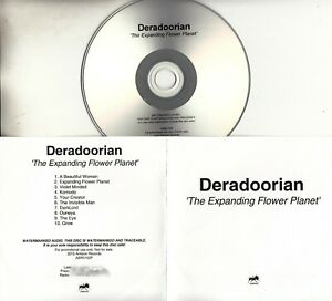 DERADOORIAN The Expanding Flower Planet 2015 UK 10-trk promo test CD