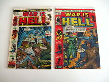 *WAR IS HELL LOT 7 Books Guide $66