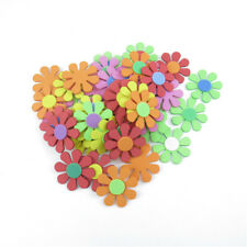 50pcs Mixed Flower Foam Stickers Kids Embellishments for Scrapbook Art Craft