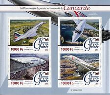 Guinean Sheet Transports Postal Stamps