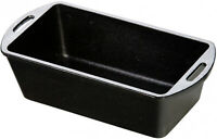Cast Iron Loaf Pan Seasoned Cooking Bread Cake Meat Home Kitchen Oven Non Stick