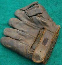 Antique Baseball Glove - 1930's - Hutch