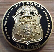 FBI - Joint Terrorism Task Force - SecondGEN Full Color enamel challenge coin