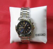 NIB Seiko Men's SNQ010 Perpetual Calendar Watch