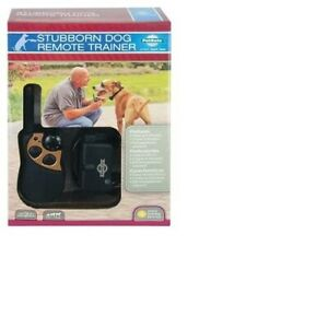 RADIO SYSTEMS CORPORATION STUBBRN DOG REMOT TRAINR