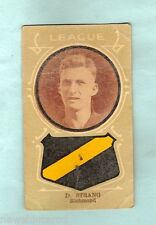 1930s AUSTRALIAN LICORICE FOOTBALLERS CARD - D. STRANG, RICHMOND