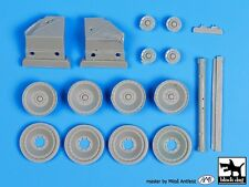 Black Dog 1/35 Panther Tank Wheels & Battle Damaged Parts (for all kits) T35091