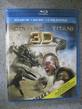 SCONTRO TRA TITANI 3D  ( blu ray 3d + blu ray + copia digitale )