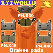 FRONT REAR Brake Pads for Honda CBR600 CBR 600 1999-2007