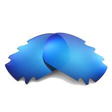 Walleva Polarizado Hielo Azul Ventilado Lentes de Repuesto para Oakley Carreras