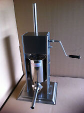 10 Litre Commercial Sausage Stuffer Stainless Steel Filler Maker Machine