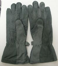 US ARMY MASLEY COLD WEATHER FLIGHT PILOT FLYERS GLOVES GORE-TEX NOMEX SAGE  NEW