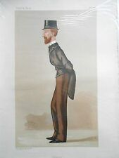 Original Vanity Fair Print of Edward Heneage PC MP, 1887 (Includes Magazine)