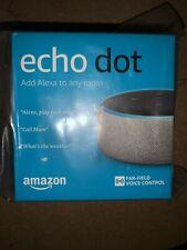 Amazon Echo Dot Speaker with Alexa - Heather Grey