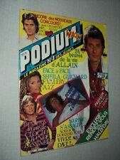 PODIUM 099 (5/80) CLAUDE FRANCOIS SHEILA JOHNNY HALLYDAY DANIEL GUICHARD DAVE+
