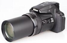 Nikon COOLPIX P900 16MP Compact Digital Camera - Black (Body Only)