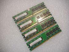HYNIX 2GB (4x512MB) 1Rx8 PC2-4200U DDR2 533MHz RAM Memory HYMP564U64CP8-C4